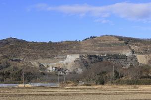 山の採石場の写真素材 [FYI04782957]