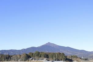 冬の筑波山の写真素材 [FYI04782962]
