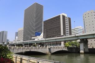 大阪のオフィス街の写真素材 [FYI04783684]
