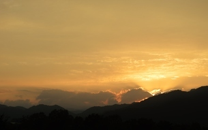 福井県の夕空の写真素材 [FYI04783709]