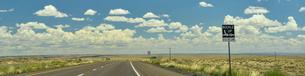 インターステーツと地平線、パノラマ写真の写真素材 [FYI04783726]
