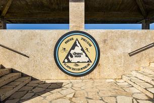 宮古島トライアスロンの名所 東平安名岬の写真素材 [FYI04783749]