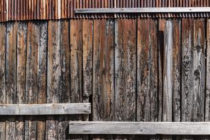 古い木の壁の写真素材 [FYI04783766]