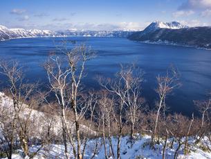 冬の摩周湖の写真素材 [FYI04783803]