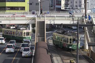 長崎の路面電車の写真素材 [FYI04784003]