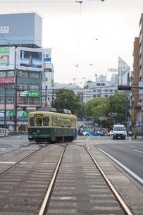 長崎の路面電車の写真素材 [FYI04784008]