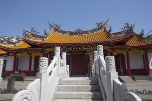 長崎孔子廟儀門の写真素材 [FYI04784019]