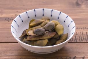 丹波篠山 黒枝豆の茹で枝豆の写真素材 [FYI04784586]