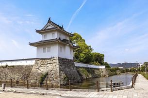 赤穂城の隅櫓の写真素材 [FYI04784769]