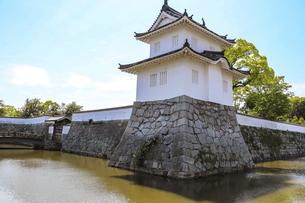 赤穂城の隅櫓の写真素材 [FYI04784778]