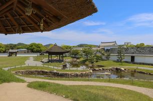 赤穂城の二之丸庭園の写真素材 [FYI04784796]
