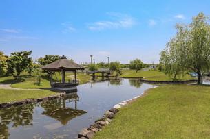 赤穂城・二之丸庭園の写真素材 [FYI04784797]