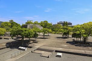赤穂城の本丸の写真素材 [FYI04784800]