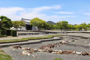 赤穂城の本丸遺構の写真素材 [FYI04784805]
