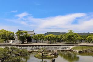 赤穂城の本丸庭園の写真素材 [FYI04784806]