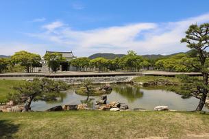 赤穂城の日本庭園の写真素材 [FYI04784807]