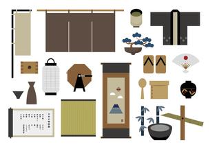 日本 物 伝統 文化 イラストのイラスト素材 [FYI04785598]