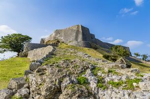 琉球統一を夢見た名城・勝連城の写真素材 [FYI04785669]
