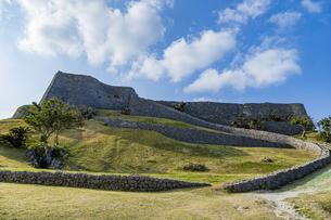 琉球統一を夢見た名城・勝連城の写真素材 [FYI04785679]