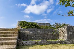 琉球統一を夢見た名城・勝連城の写真素材 [FYI04785681]