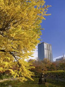 東京都 日比谷公園と東京ミッドタウン日比谷の写真素材 [FYI04785719]