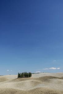 シンプルで美しいトスカーナの風景の写真素材 [FYI04786054]