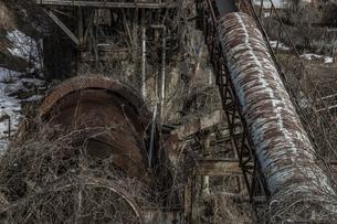 廃工場の写真素材 [FYI04786090]