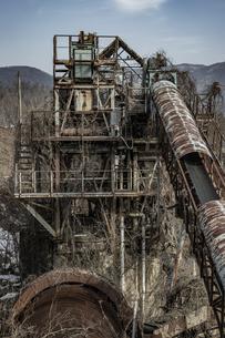 廃工場の写真素材 [FYI04786091]