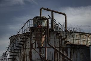 廃工場の写真素材 [FYI04786097]