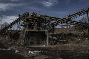 廃工場の写真素材 [FYI04786103]