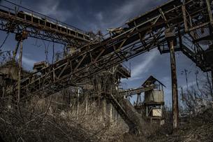 廃工場の写真素材 [FYI04786116]