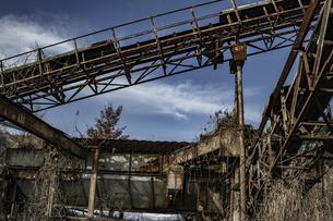 廃工場の写真素材 [FYI04786118]