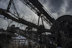 廃工場の写真素材 [FYI04786119]