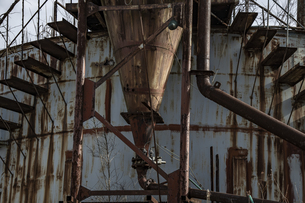 廃工場の写真素材 [FYI04786125]