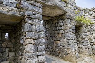 琉球政府時代に復元された平郎門の写真素材 [FYI04786247]