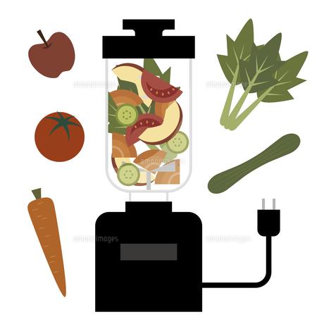 野菜ジュース ミキサー イラストのイラスト素材 [FYI04786360]
