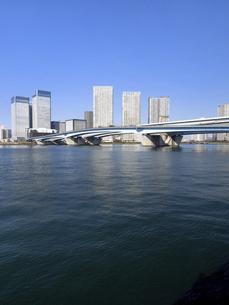 東京港と晴海大橋の写真素材 [FYI04786662]