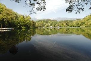 松原湖 (猪名湖)の写真素材 [FYI04786772]