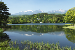 松原湖 (猪名湖)の写真素材 [FYI04786773]