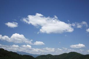 青空と雲の写真素材 [FYI04786801]