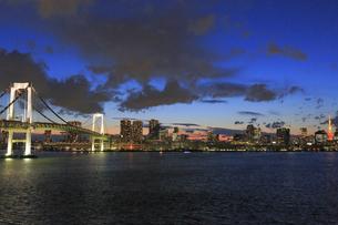東京都心の夜景パノラマの写真素材 [FYI04786863]