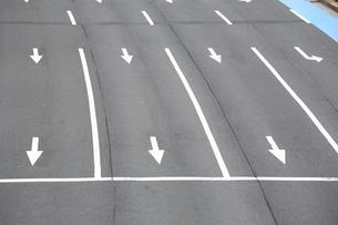 道路通行区分の写真素材 [FYI04786914]