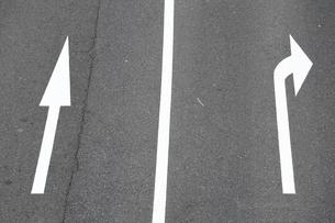 道路通行区分の写真素材 [FYI04786916]