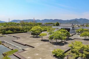 赤穂城の本丸庭園の写真素材 [FYI04786978]
