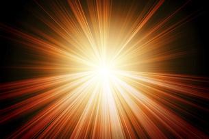 放射状に広がる光の写真素材 [FYI04787252]