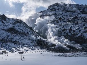 硫黄山の写真素材 [FYI04787254]