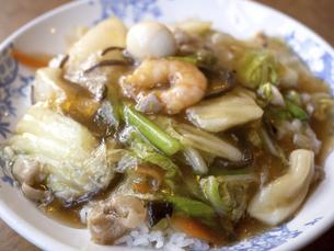 中華丼の写真素材 [FYI04788226]