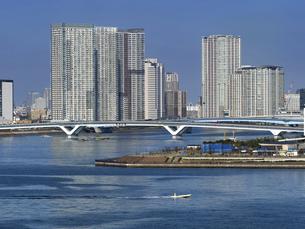 豊洲大橋 東京都の写真素材 [FYI04788244]
