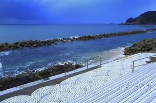笹川流れ 夕景の写真素材 [FYI04788716]