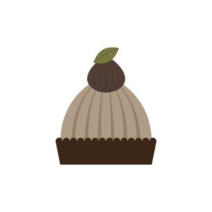 モンブラン ケーキ イラストのイラスト素材 [FYI04790125]